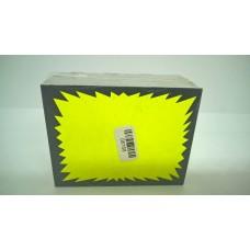 100 Fluorescent Fluorescent Yellow Cards 7X9Cm
